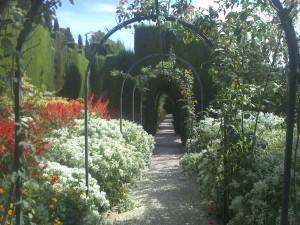 Trädgårdarna i Alhambra